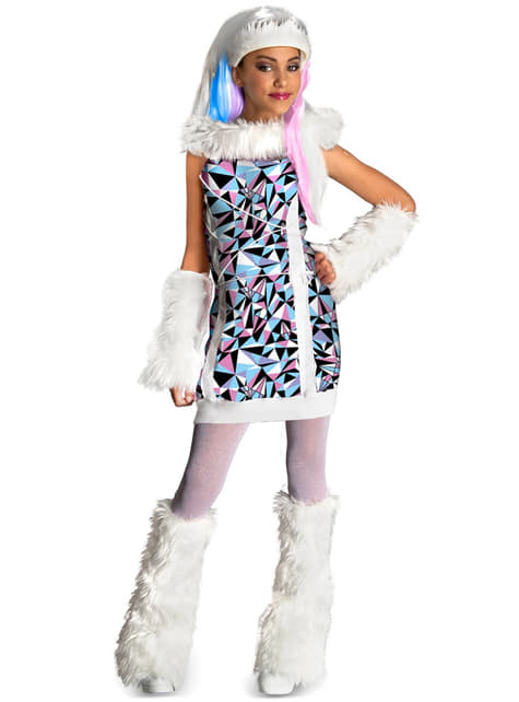 Abbey Bominable Monster High barnekostyme