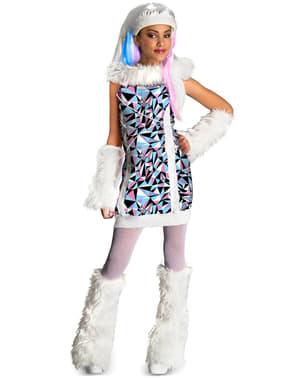Abbey Bominable Monster High barnekostyme