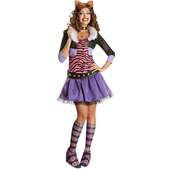 Disfraz de de Clawdeen Wolf Monster High Adulto
