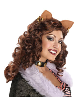 Clawdeen Wolf Monster High Wig