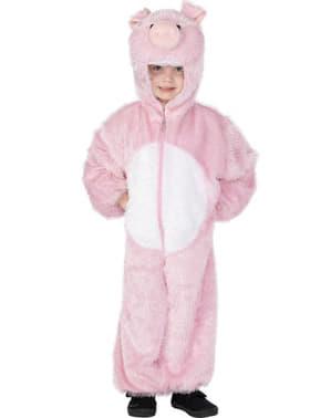 Fato de porquinho infantil