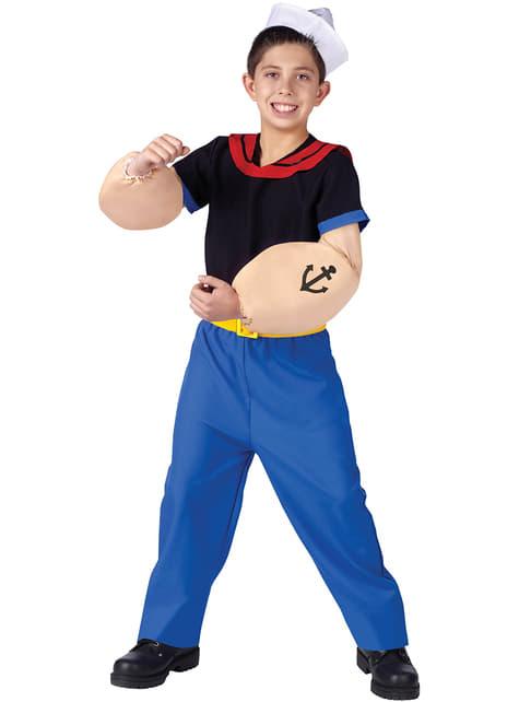 Popeye Kostuum voor kinderen