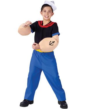 Fato de Popeye infantil