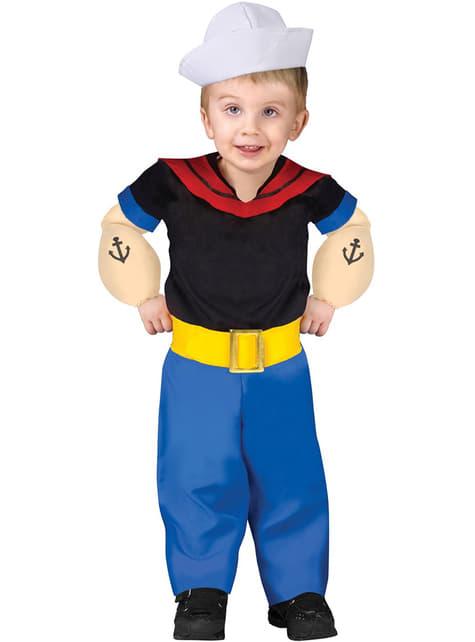 Disfraz de Popeye infantil - hombre