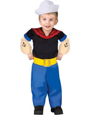 Popeye Kostyme (Barn)