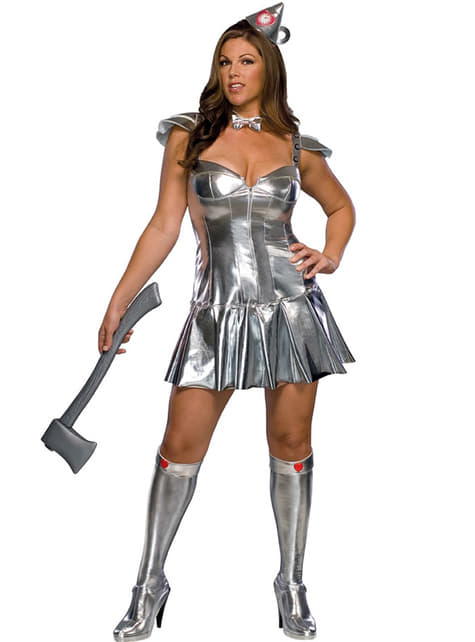 The Tin-Man The Wizard of Oz Adult Costume (Female)