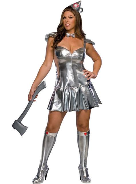 Tin-Mannen Trollmannen fra Oz Kostyme Voksen (Dame)