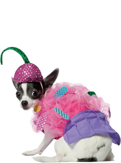 Disfraz de cupcake para perro