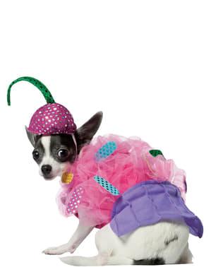Déguisement de cupcake pour chien