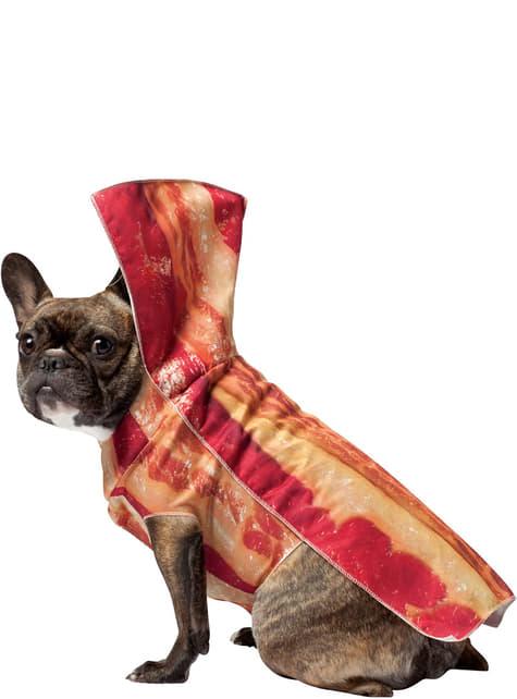 Fato de bacon para cão