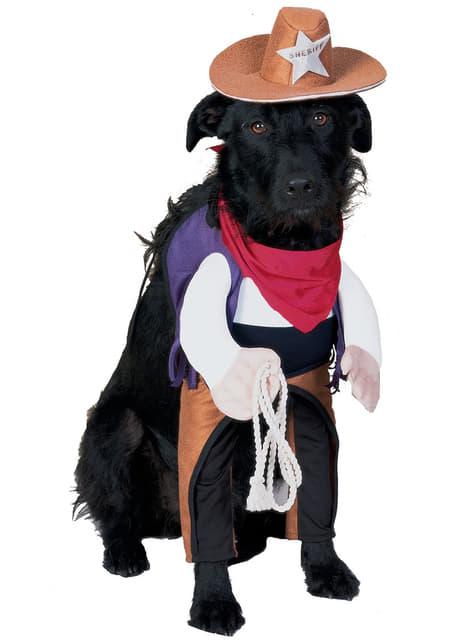 Hund Sheriffdräkt