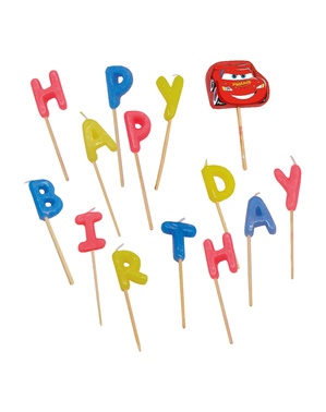 Cars 3 Birthday Candles