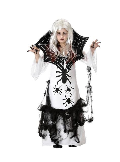 Disfraz de araña para niña