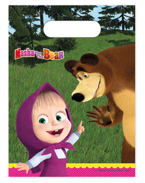 6 pungi Masha și Ursul