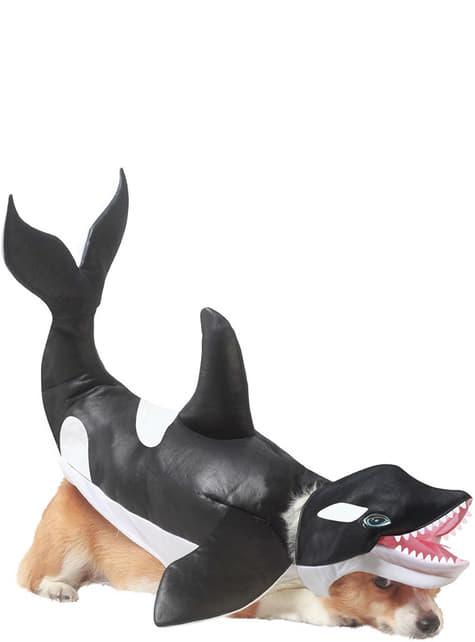 Disfraz de Orca para perro