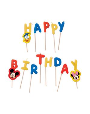 Mickey Mouse Fødselsdagslys - Playful Mickey