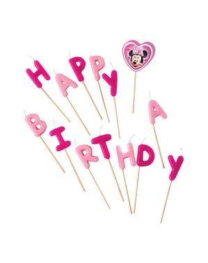 Świeczki urodzinowe Myszka Minnie - Minnie Happy Helpers