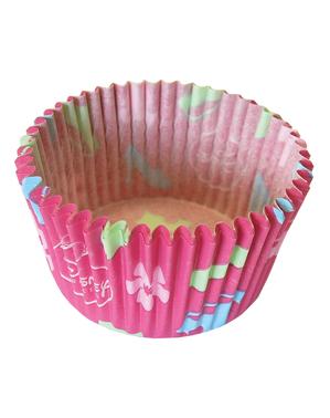 24 cápsulas para cupcakes Princesas Disney - Princess Dreaming