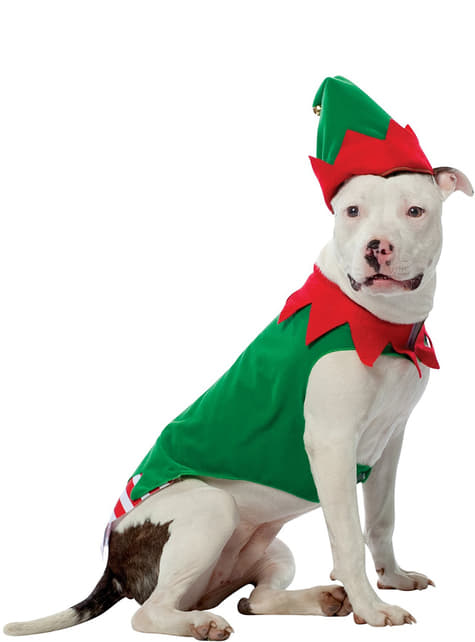 Elf Dog Costume