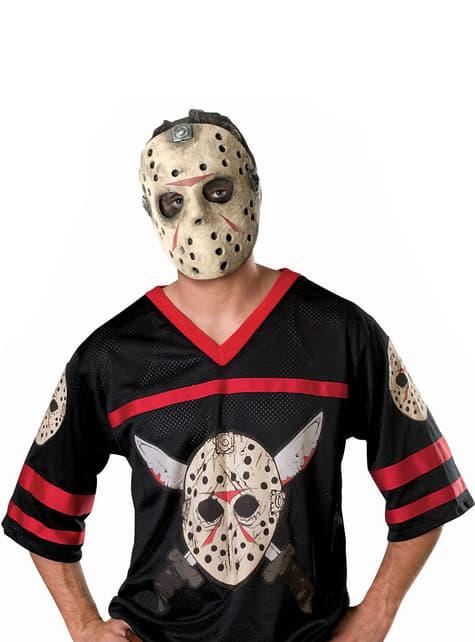 Jason Friday the 13th Hockey Kostyme Voksen
