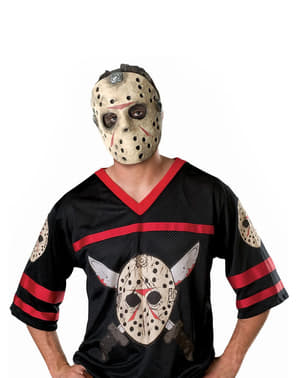 Jason Friday the 13th Hockey Kostyme Voksen