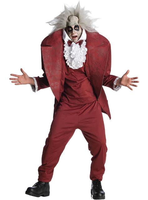 Надуваеми Beetlejuice Възрастен костюм