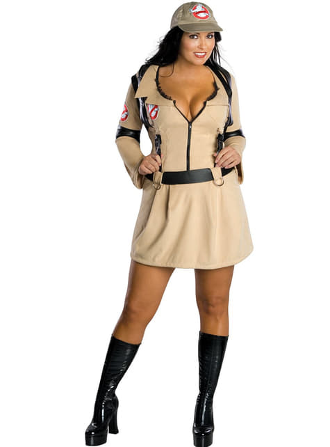 Ghostbusters plus size kostyme til Damer