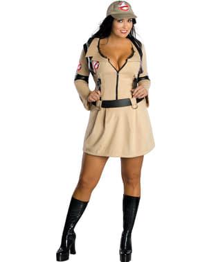 プラスサイズゴーストバスターズ女性用アダルトコスチューム
