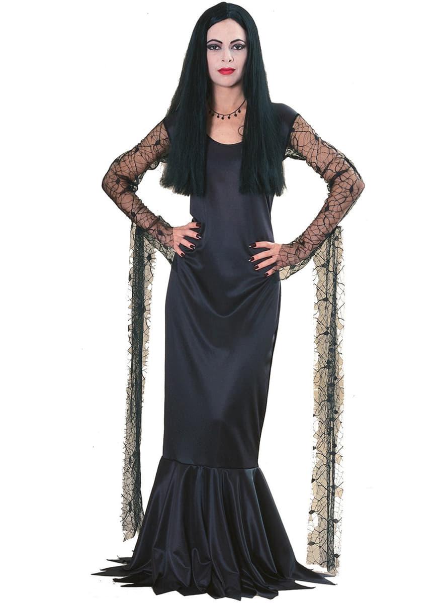 Disfraz De Morticia La Familia Addams Have Fun Funidelia - Disfraces-familia-adams