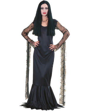 Morticia aus der Familie Addams Kostüm