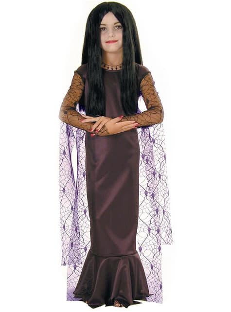 Kostium Morticia Rodzina Addamsów dla dziewczynki