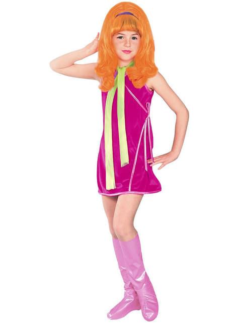 Scooby-Doo Daphne Maskeraddräkt Barn