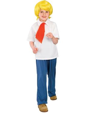 Fato de Fred de Scooby-Doo para menino