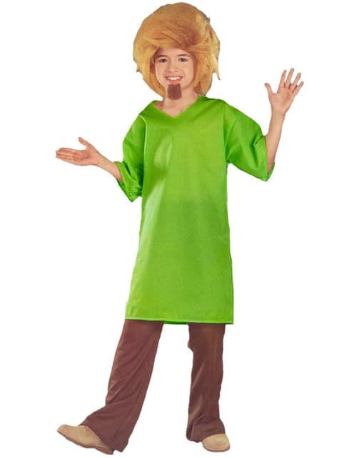 Strój Shaggy Scooby Doo dla chłopca