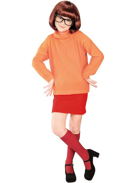 Fato de Vilma de Scooby-Doo para menina