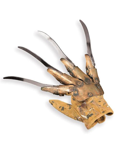 Guante de metal de Freddy Krueger Deluxe