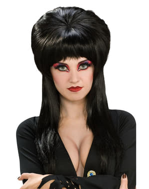 Peluca Elvira Mistress of the Dark