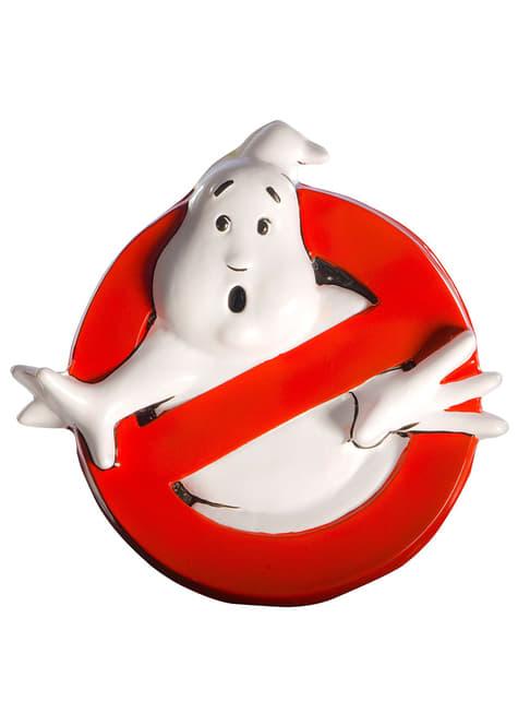 Vægdekoration med Ghostbusters logo