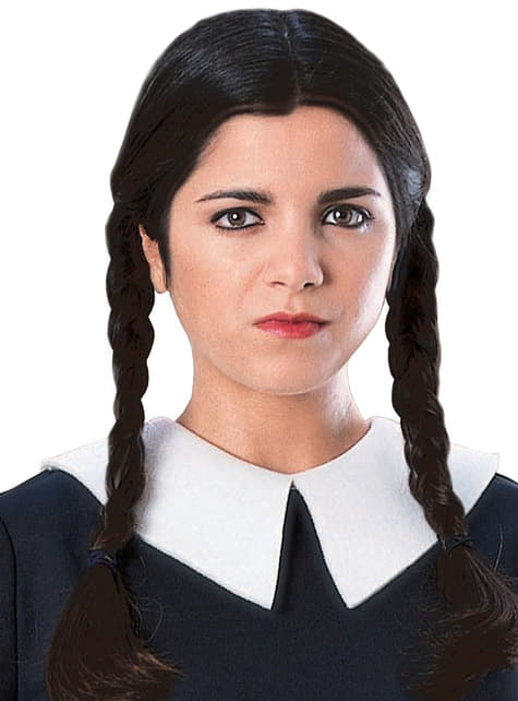 Wednesday The Addams Family Adult Wig