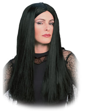 Perruque de Morticia - La Famille Addams adulte