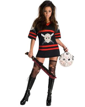 Mrs. Jason kostume Fredag d.13 til kvinder