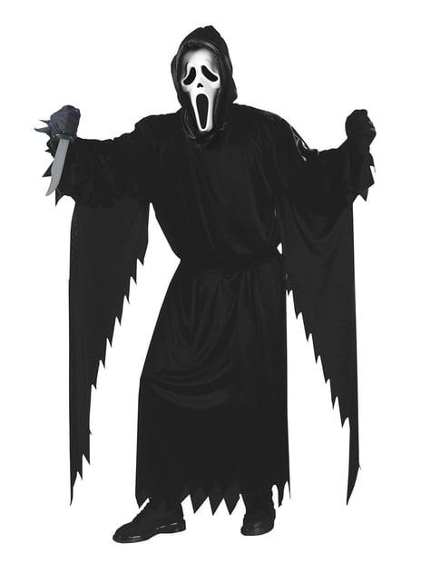 Scream-asu kummituksen kasvoilla