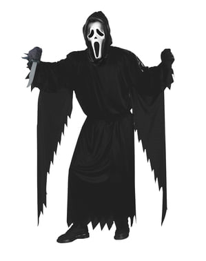Ghost Face Scream costume