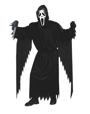 Spøkelse Ansiktsskrik Kostyme