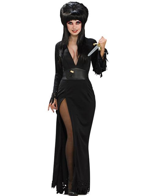 Déguisement d'Elvira maîtresse des ténèbres haut de gamme