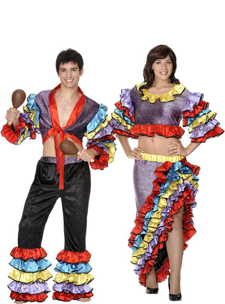 female rumba dancer costume  express delivery