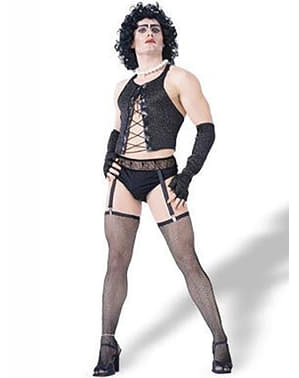 Dr. Frank kostume The Rocky Horror Picture Show