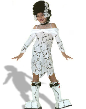 Universal Studios Monsters Frankenstein Girl Kids Costume