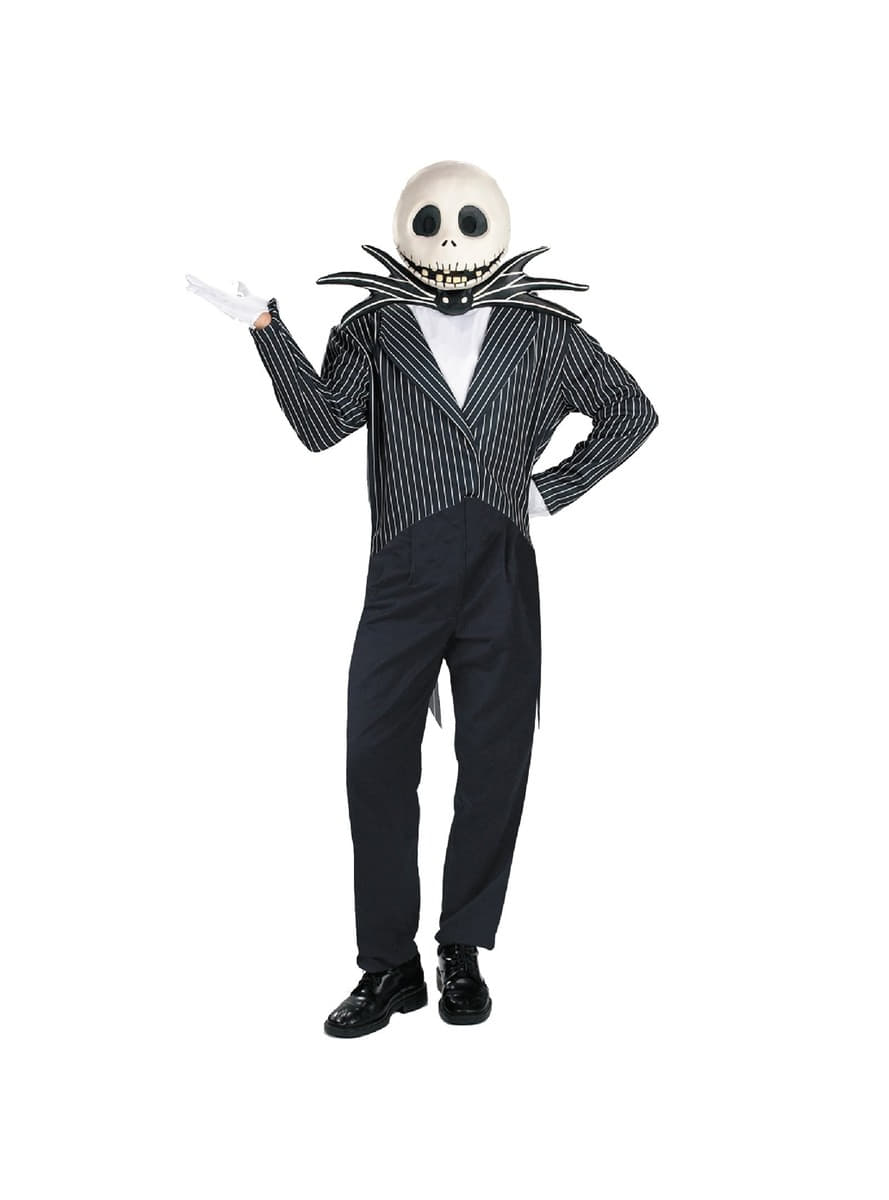 Deluxe Jack: A Nightmare Before Christmas Adult Costume. Fast ...