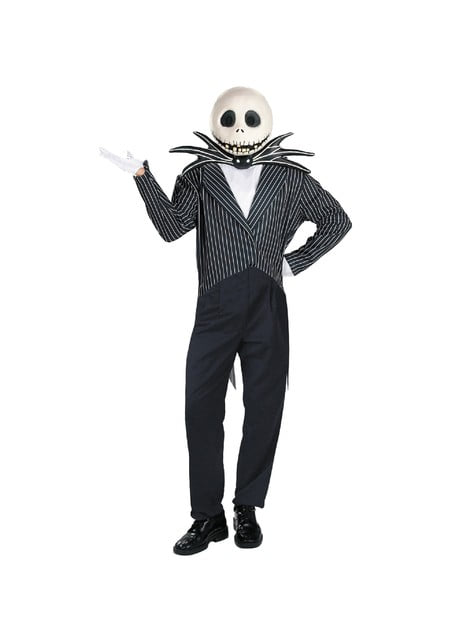 Deluxe Jack: A Nightmare Before Christmas Adult Costume